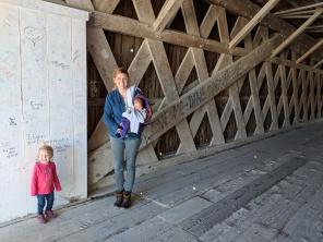 The Bridges of Madison County. Hogback covered bridge.
