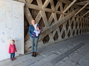 The Bridges of Madison County. Hogback covered bridge.
